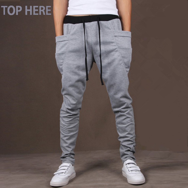 Casual Pants Army-Trousers Clothing Mens Joggers Hip-Hop Here Big 8-Colors Pocket-Top