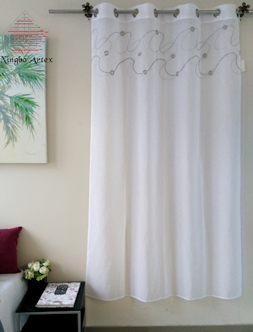 2018 Artex Kitchen Drapes Striped pattern Children bedroom curtains ...