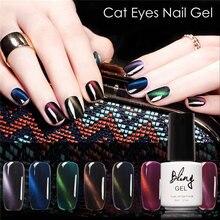 Bling Nail Gel Polish Set Magnetic Nail Polish Color Gel Varnish Lacquer Nail Art Soak Off UV Gel Nail Polish