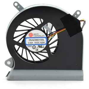 New PAAD06015SL 0.55A 5VDC 3 pin A166 N284 Laptop CPU Cooler Fan For MSI GE60 16GA 16GC Series Notebook CPU Cooling Fans(China)