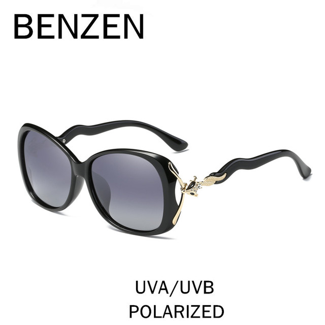 d67be32647c BENZEN Sunglasses Women Brand Designer Luxury Rhinestone Female Sun Glasses  Shades Ladies Driver Driving Glasses With