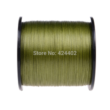 500M Japan Multifilament PE Braided Fishing Line super fishing core armygreen fishing braid 8 strands top rated fishing line