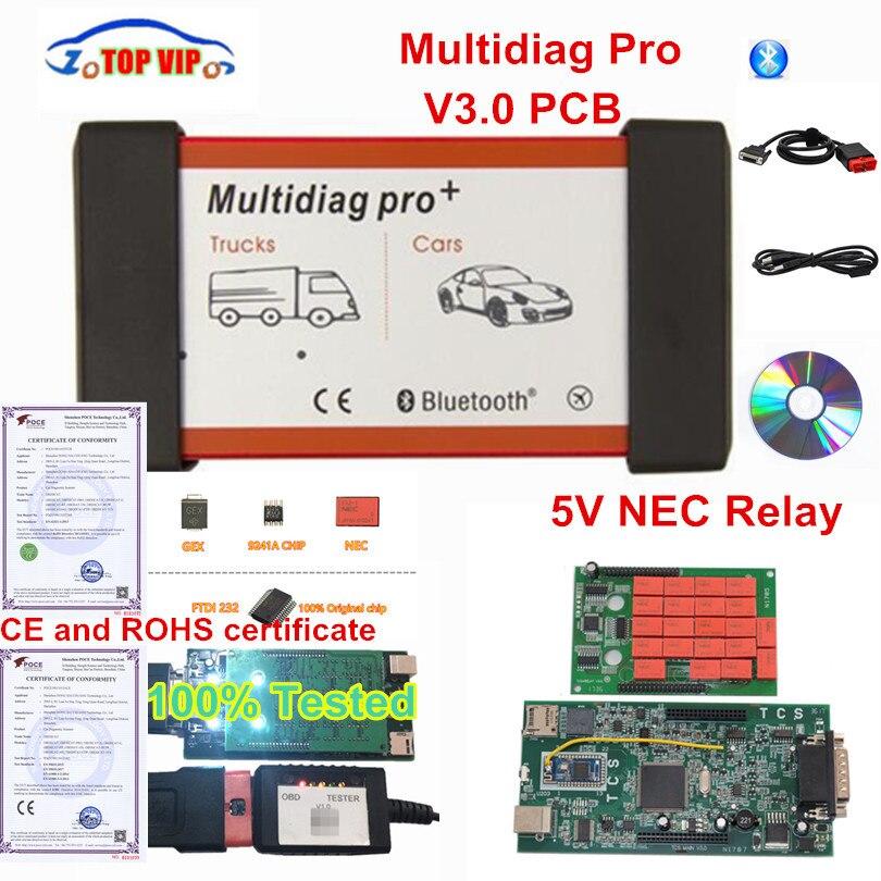 Dernières 2016.00 avec keygen SW Multidiag Pro Bluetooth TCS CDP Pro Multi diag Pro Livraison Keygen scanner de diagnostic Outil