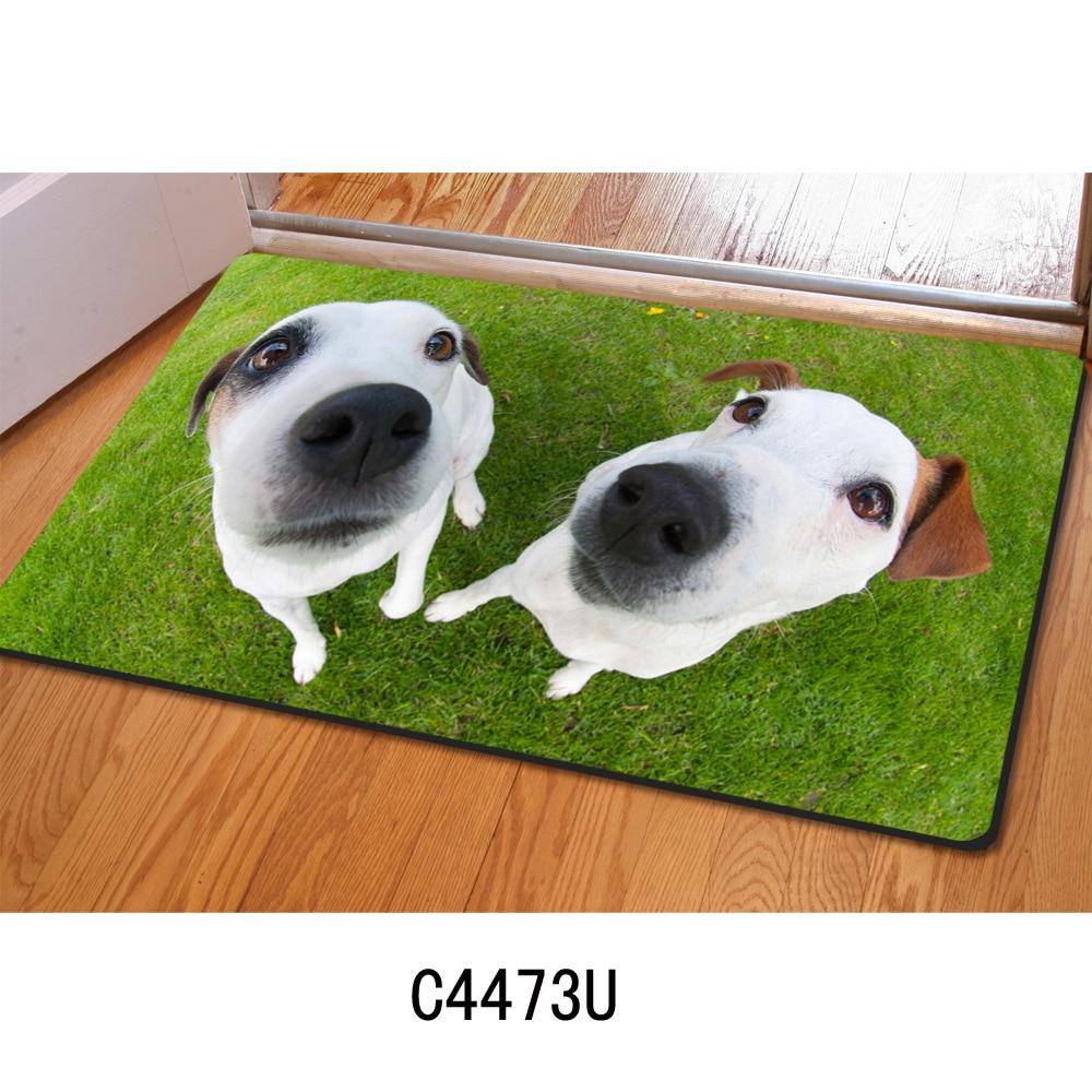 Eingang fußmatte 3D nette haustier hund gedruckt Gummimatte 3D ...