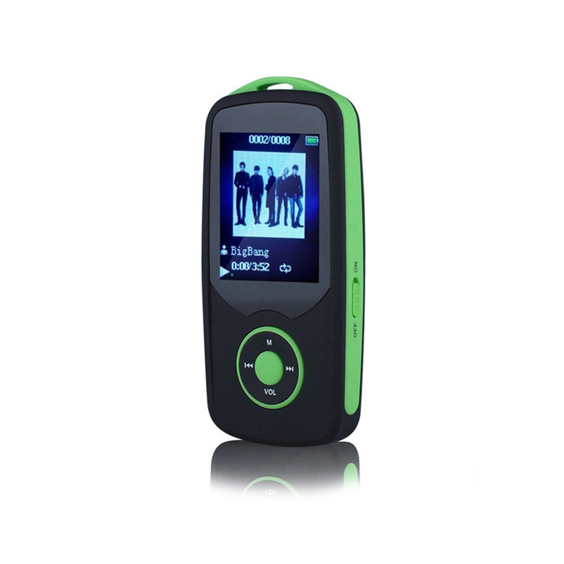 Original <font><b>RUIZU</b></font> X06 <font><b>Mp3</b></font> <font><b>Player</b></font> Bluetooth 8 GB TFT 1,8