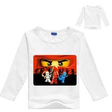 3-12Years 2019 Boys T Shirt Legoes T-shirt Baby Ninjago Boy Tshirt L Sleeves Children Summer Clothes Toddler Shirts