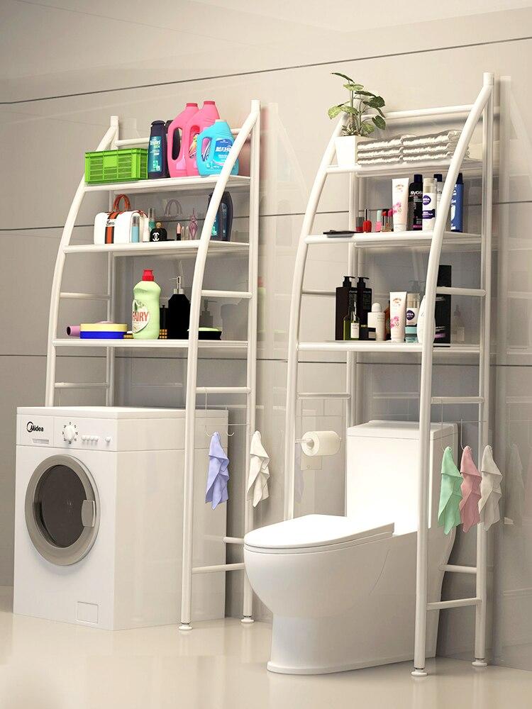 Plancher salle de bain rack douche stockage douche caddy toilettes shelfs salle de bain étagère murale étagères bain rack pour baignoire à travers