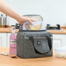 Waterproof Insulated Food Storage Bags Oxford Travel Necessary Picnic Pouch Unisex Thermal Dinner Box Case Accessories