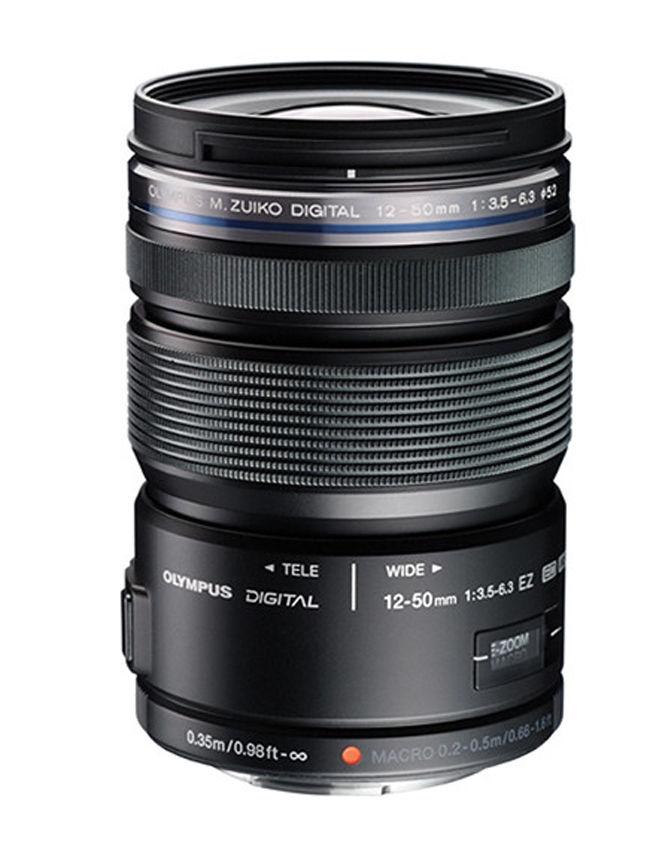 Olympus 12 50mm Obiettivo Olympus M. ZUIKO ED 12 50mm f/3.5 6.3 EZ Lens (nero) per Olympus Panasonic Micro Quattro Terzi fotocamera REFLEX-in Lenti per videocamera da Elettronica di consumo su AliExpress - 11.11_Doppio 11Giorno dei single 1