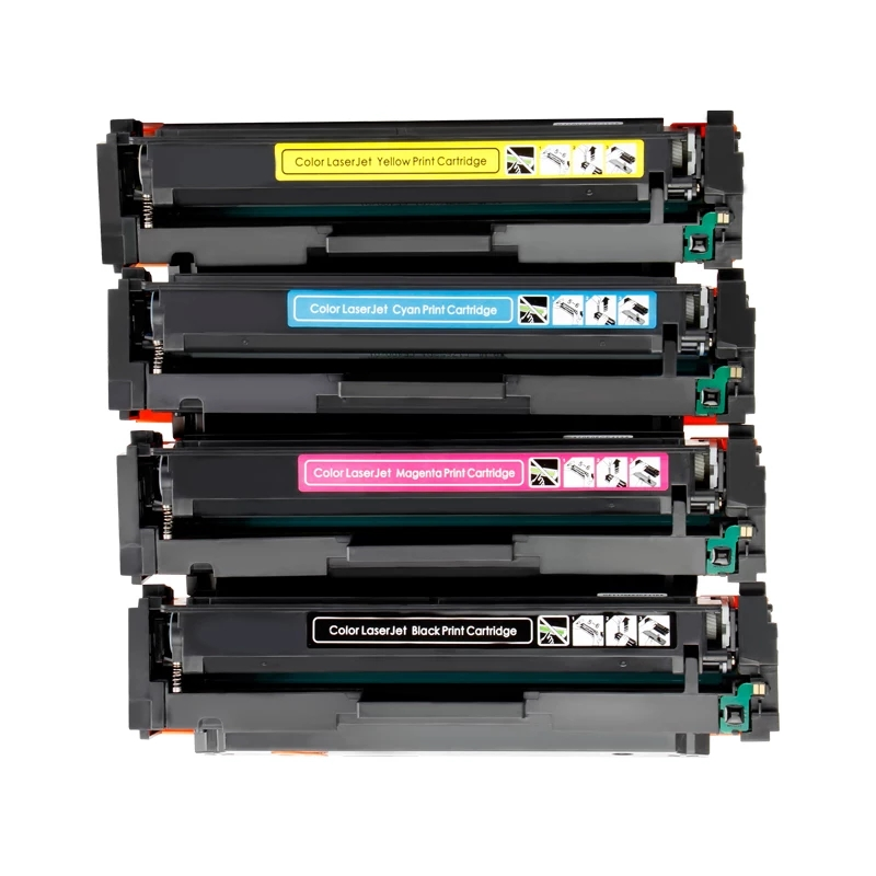 3 Pack Black High Yield M254nw M254dw M254dn MFP M280nw M281fdn M281fdw M281cdw Printers Toner Cartridge Replacement for HP 202X CF500X Toner