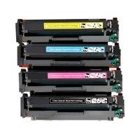 4pk com chip recarregável m281fdw cf500a 202a 202x cartucho de toner para hp pro mfp m281fdw m254dw m281dw m281dw m280nw m254 m281