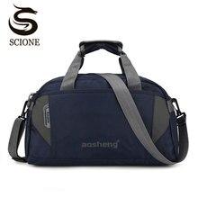 Scione bagaż podróżny torebki damskie wysokiej jakości sportowe torby na ramię Duffel mężczyźni proste Casual Fitness Outdoor Crossbody Bag