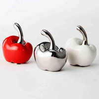 High Quality simple style apple for home wedding decor and Christmas gift Perfect Ceramic Arts Crafts Supplies TV ark decoration