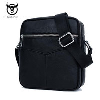 BULL CAPTAIN 2017 Fashion Leather Shoulder Crossbody Bag Sac A Main Handbags Male Sling Bag Men