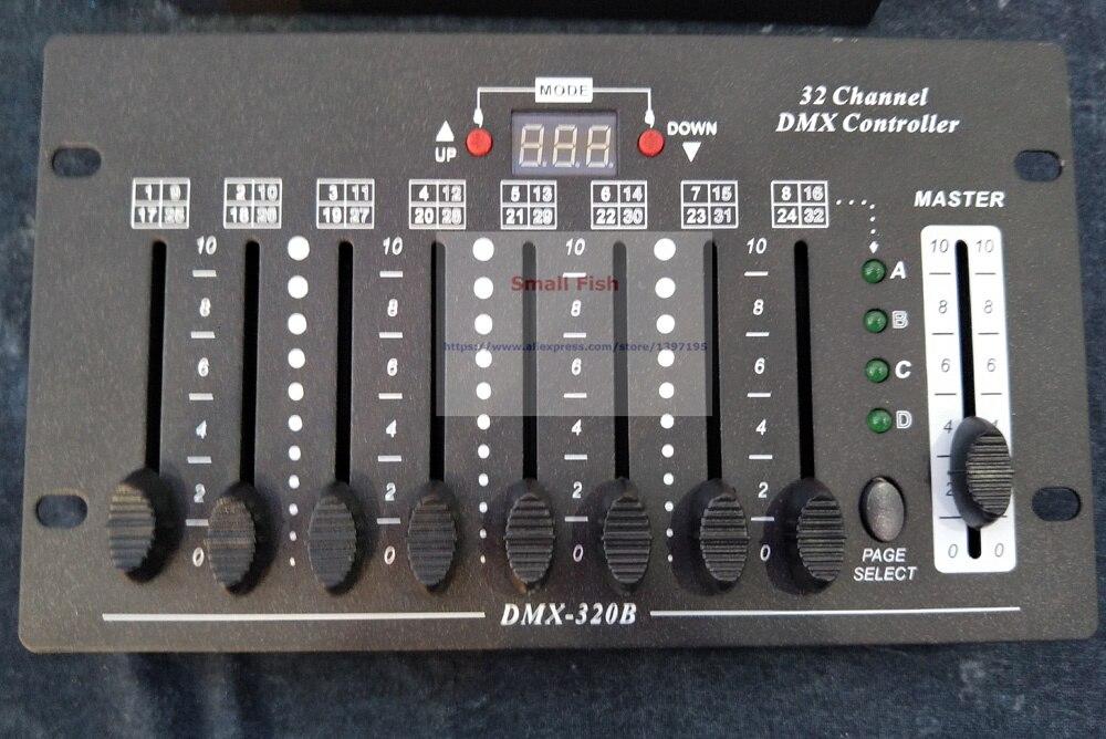 Купить с кэшбэком 1Pcs/Lot Free Shipping 32 Channels DMX Stage Lighting Controller DMX Console Control LED Moving Head Lights LED Par Light