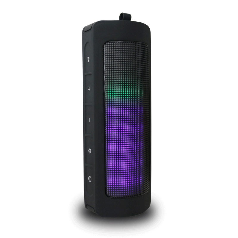 THECOO 10W Colorful LED Bluetooth Speaker Portable Wireless Speakers Handsfree TF 8 Hours 6 Models Outdoor Subwoofer for Phones