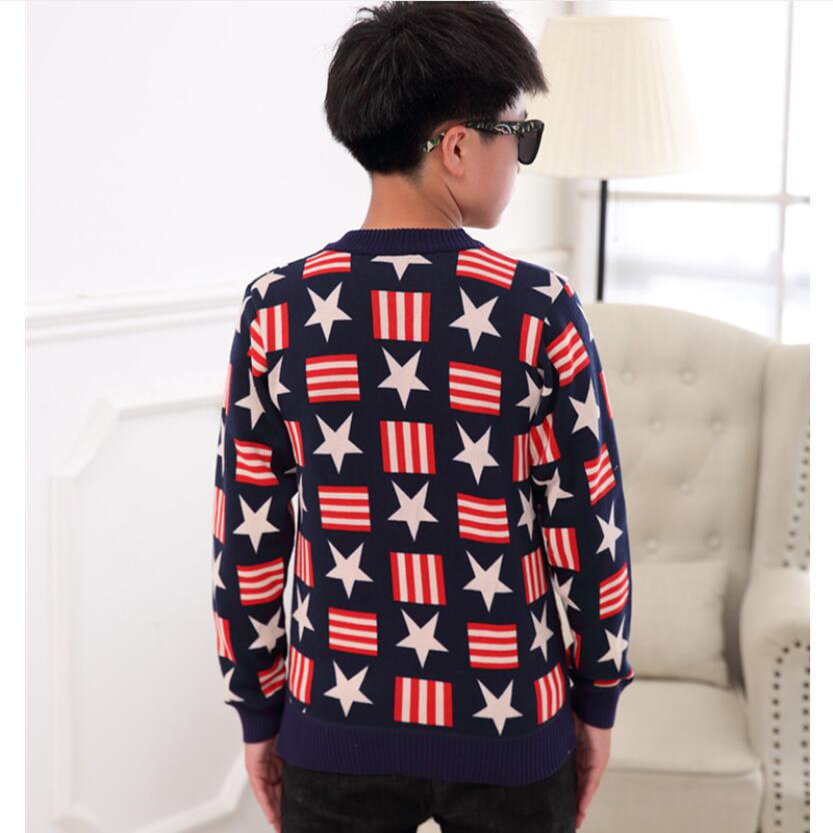 sweaters boy winter warm jacket Pullovers plush inside Knitted sweaters Loose jacket 3-13T children velvet sweaters boys knitted 2