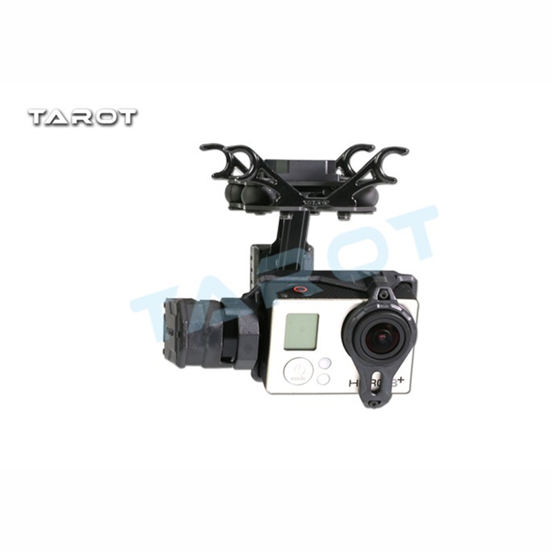 Tarot-RC T2-2D 2 Axis Brushless Gimbal For Gopro Hero 4/3+/3 TL2D01 FPV Gimbal tarot tl2d01 t2 2d 2 axis brushless gimbal ptz for gopro 3 3 4 sport camera fpv drone