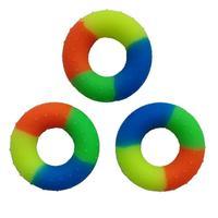 3 шт. красочные Укрепитель осуществлять захват кольца Круглый для облегчения и реабилитации после травм с массажными точками