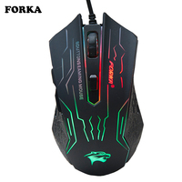 3200DPI Silence Click USB Wired Gaming Mouse Gamer 6Buttons Opitical Ergonomics Computer Mice For PC Mac