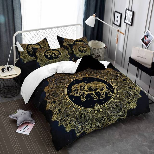 prajna tribal elephant quilt exotic comforter sets bedding set