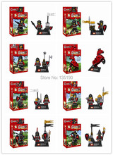 SY253 Super Heroes Black Dragon Knight Riders Royal Knights medieval soldiers Horse Action Figures Minifigure Toys blocks