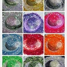Разбрызгивающая переливчатая Радуга цвета блестки пайетки для дизайна ногтей, искусства и ремесла DIY Украшения