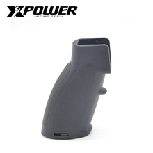 XPOWER 416 Grip For AEG Airsoft Accessories Paintball Outdoor Sports Plastic Air Guns durable diy plastic steel hand grip rail mount set for ak guns imitation guns black 4 pcs