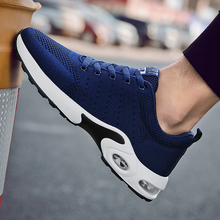 Купить с кэшбэком YIQITAZER 2018 New Fashion Adult Height Increasing Cool Mesh Casual Men Shoes, Breathable  Massage Sweat-Absorbant Shoes Man Red