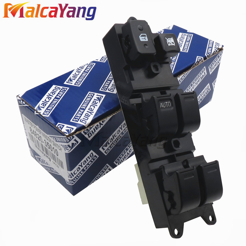 84820-35010 8482035010 For Toyota Carina E Hilux 4Runner Truck Land Cruiser Lexus LX450 Power Window Switch new 4pcs 83181 20040 vehicle speed sensor for lexus lx450 toyota land cruiser previa celica 090 5041 0905041 8318120040