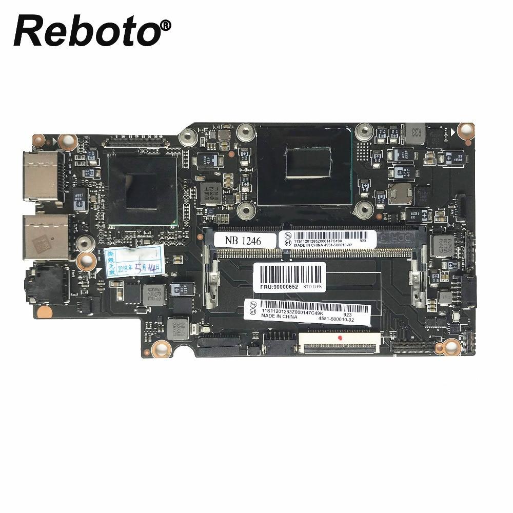 Reboto For Lenovo Yoga 13 Yoga13 Laptop Motherboard FRU 90000652 90000652 With I3 3217U CPU HM76