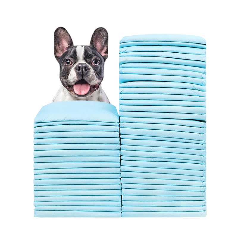 50pcs/set Dog Diapers Absorbent Litter Housebreaking Diaper Training Pee Pad Nappy Pets Dogs Puppy Cleaning Supplies Products