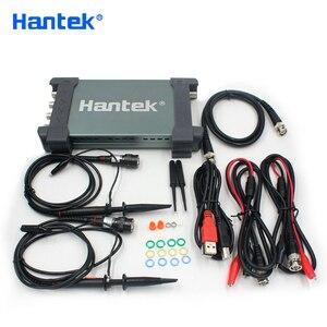 Image 1 - جهاز هانتك 6254BD 4 قنوات 250Mhz عرض النطاق الترددي Osiclloscope الرقمي USB الكمبيوتر المحمولة Osciloscopio مع مولد إشارة 25Mhz