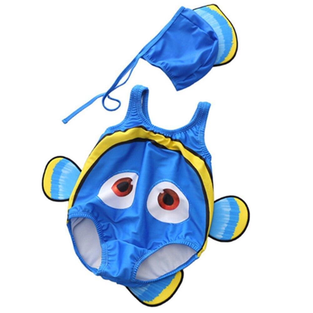 6M-2T Stroje kąpielowe dla dzieci Cartoon 3D Shape Strój kąpielowy - Odzież dla niemowląt - Zdjęcie 4