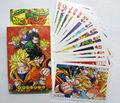 Аниме Dragon Ball Z Супер Саян Гоку Покер Игральные карты Игрушки Бесплатная Доставка