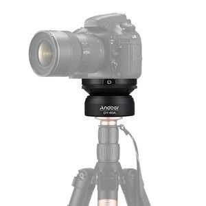 Image 5 - Штатив Andoer для выравнивания алюминиевого сплава, основа для выравнивания, головка для штатива с винтовым пузырьковым уровнем 1/4 дюйма для Canon