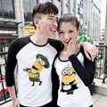 T-shirt Autumn Tshirt Small Lovers Male Female Long-sleeve Tee Couple Clothes Print Adventure Time T Shirts for Unisex Men Women