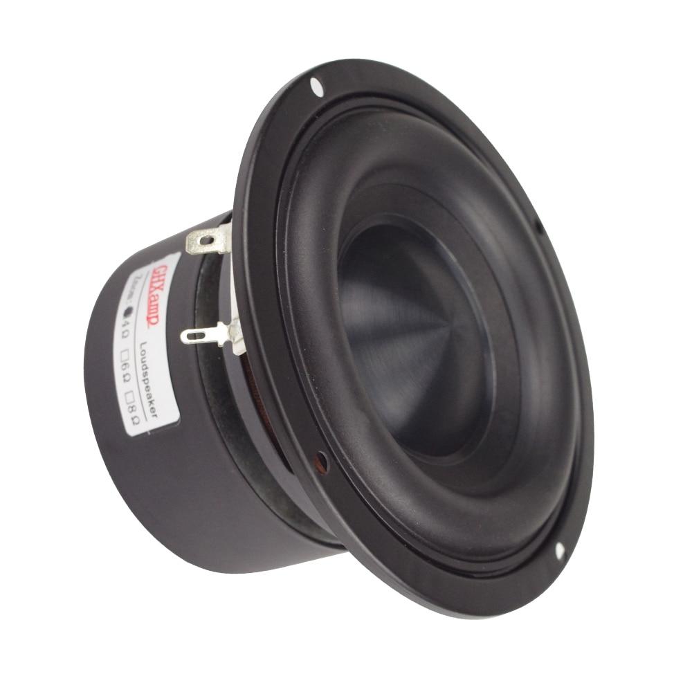 Image 4 - Ceramic Cap 4 inch 116mm Subwoofer Speaker Unit 50W Black Diamond Alumina Cap Woofer LoudSpeaker Desktop Deep Bass NEW 1PCS-in Subwoofer from Consumer Electronics