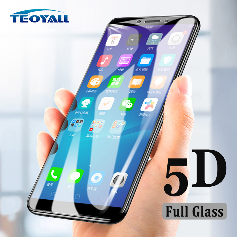 TeoYall 5D Glass for oppo A83 A79 A77 A73 A71 A59 Tempered Glass Screen Protector for oppoA83 A79 Anti-Explosion Protective Film