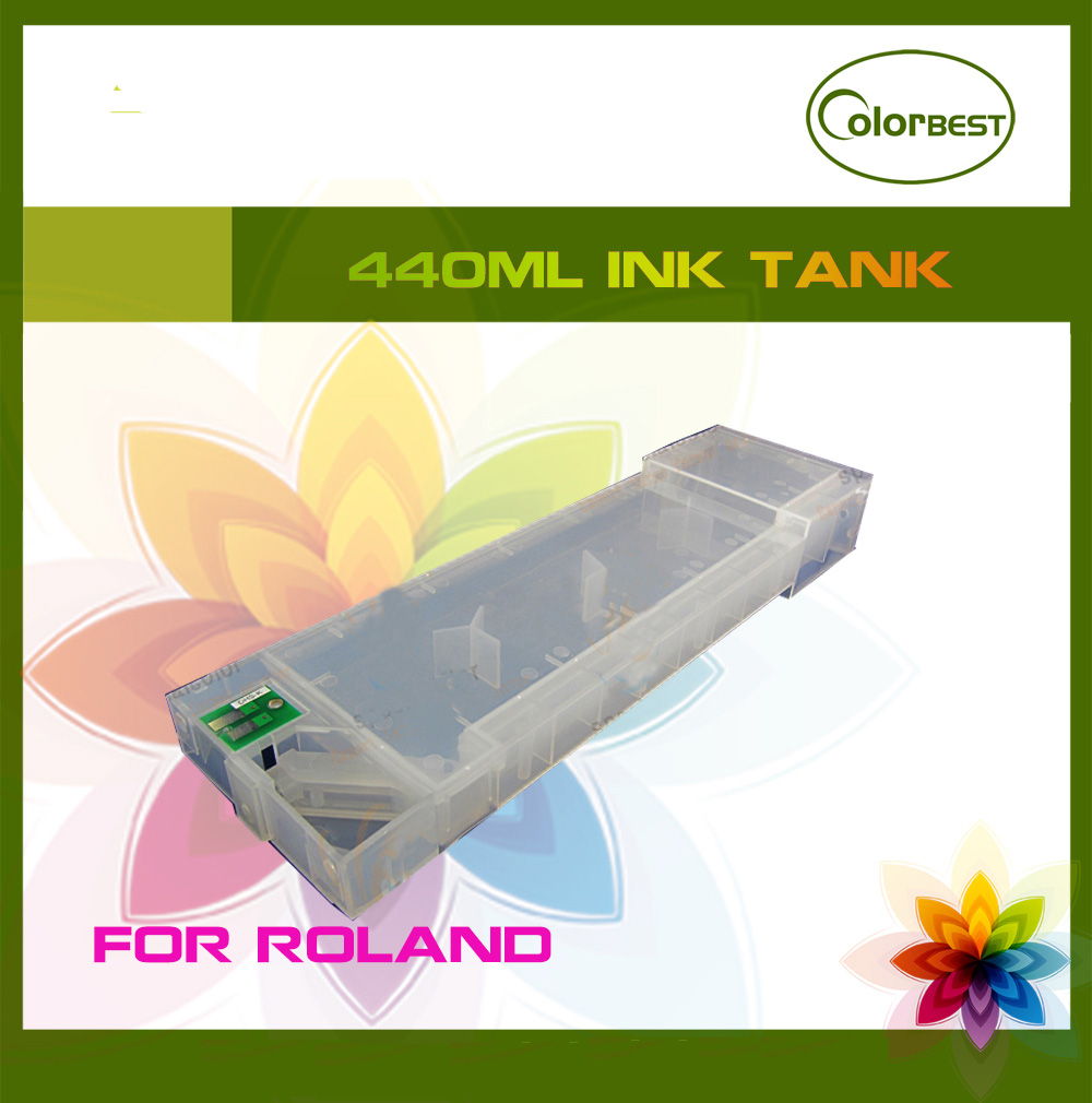 440ml+4 colors Refill Ink Cartridge with chip for Roland SP540V/300/VP540/300/XC540/XJ740/640/RS640/540 new ink pump for roland sp540v 300
