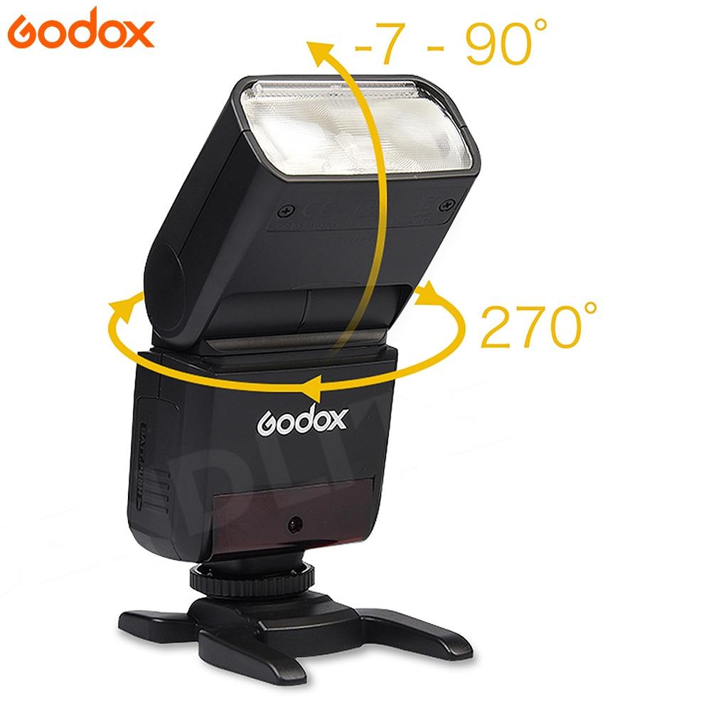 GODOX TT350 Mini Flash Light 2.4G Wireless HSS TLL 1/8000s Master Speedlite For Olympus Panasonic Lumix Camera+ X1TO Trigger