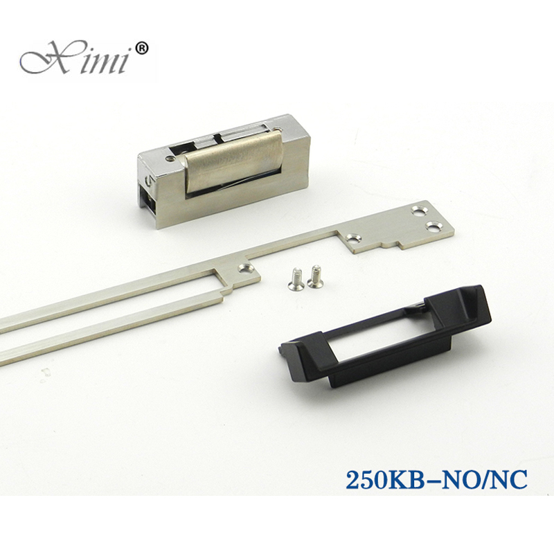 High Quality New Arrival NC Electric Strike Door Lock For Access Control System 12V Fail-Safe Type Electric Door Lock 250KB new safurance 12v fail safe nc cathode electric strike lock for access control wood metal door home security