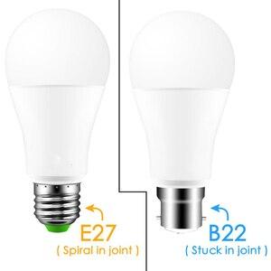 Image 4 - Nowa bezprzewodowa Bluetooth 4.0 inteligentna żarówka lampa oświetleniowa domu 10W E27 magia RGB + W LED zmień kolor żarówka ściemniania IOS /Android