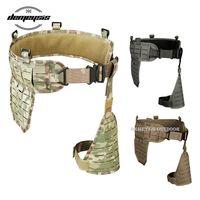 Outdoor Military Airsoft Belt Army Tactical Waist Support Hunting Combat Waist Airsoft Shooting Belt Cummerbunds Equipment