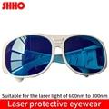 Hohe qualität laser schutz gläser SD 2 schutzbrille ausrüstung wellenlänge palette 600nm zu 700nm hohe effektiv brillen-in Instrumententeile & Zubehör aus Werkzeug bei
