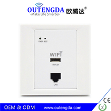 Wireless WiFi Router AP Roteador High-quality in Wall Socket Wi-Fi Repeater Access Point