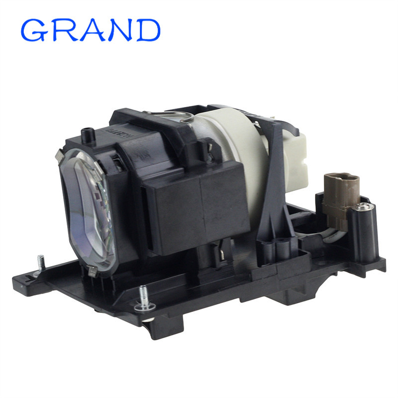 DT01175/DT01171 Compatible Projector Lamp/Bulb for Hitachi HCP-4060X/HCP-5000X projectors with housing HAPPY BATE