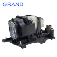 Dt01175/dt01171 compatível lâmpada do projetor/lâmpada para hitachi HCP-4060X/HCP-5000X projetores com habitação feliz bate