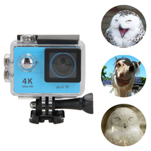 ALLOYSEED Sports Action Camera 2.0″ LCD Screen Ultra HD 4K WiFi 1080P/60fps Sport Action Waterproof Camera Camcorder