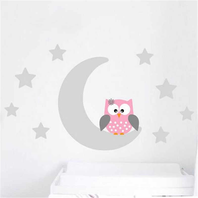 Detail Feedback Questions about ZN B10 Moon Stars Owl Good Night